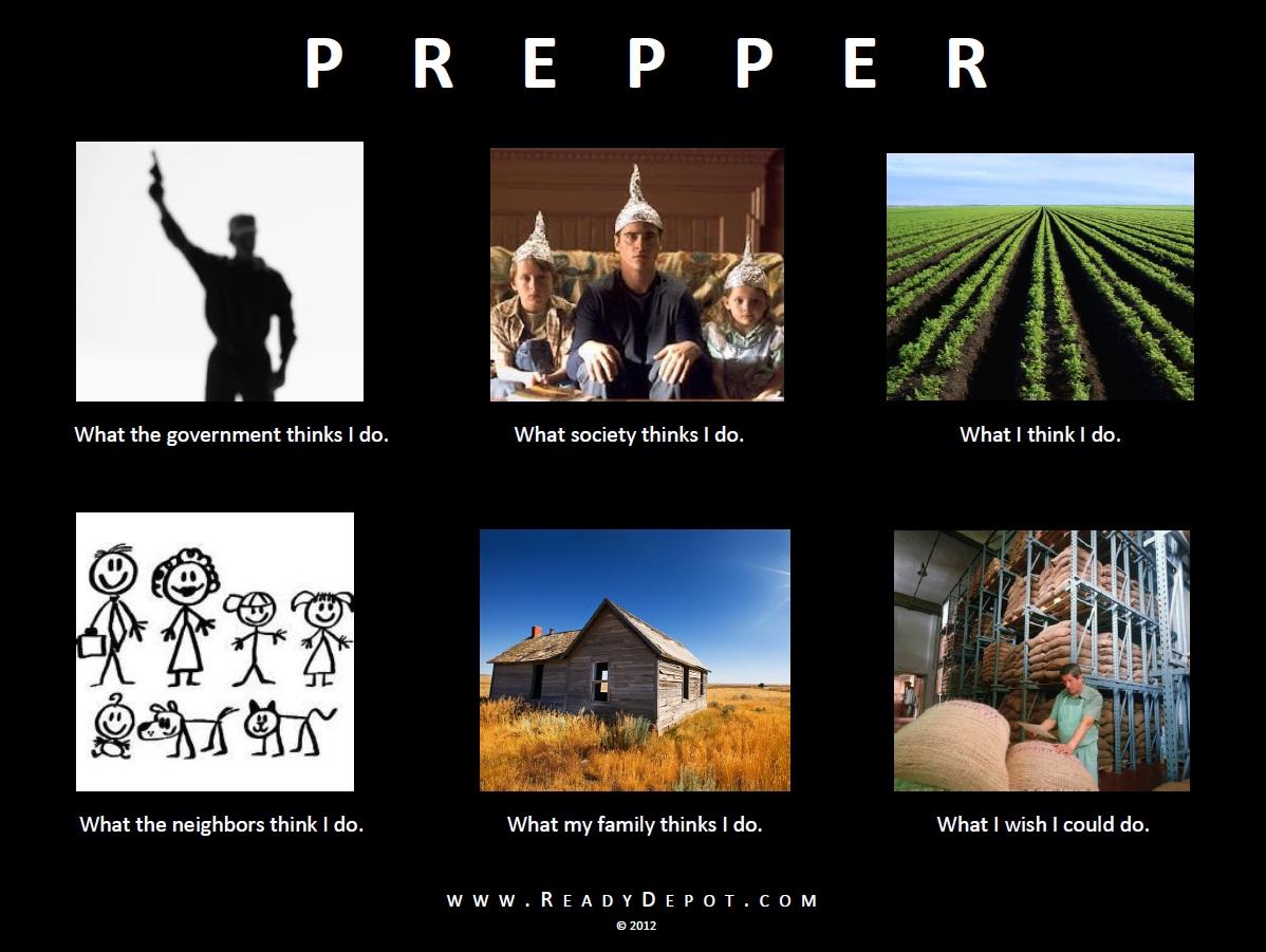 Doomsday preppers survival checklist